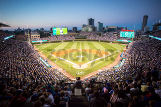 Baseball at Wrigley Field