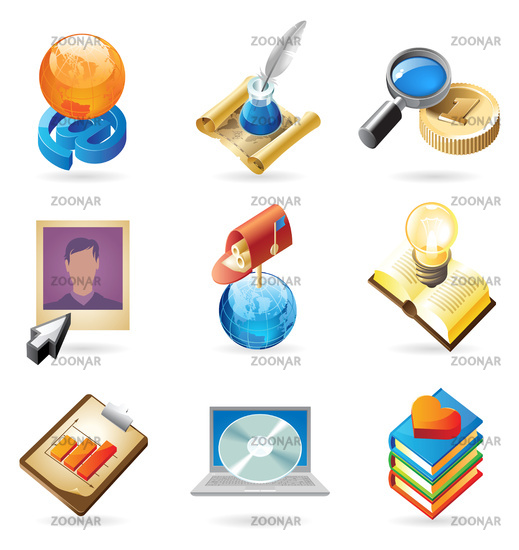 Icon concepts for web