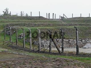 Steinbruch im ehemaligen KZ Gross-Rosen