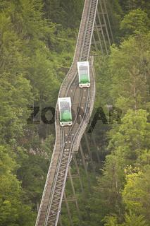 Standseilbahn cable car