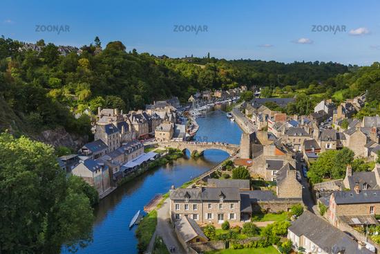 Village Dinan in Brittany - France