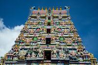 Hindu Tempel at Victoria Seychelles