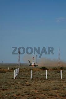 Soyus TMA-15 Launch On May 27, 2009