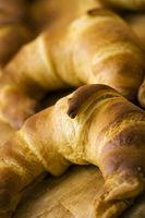 Frisch gebackene Croissant