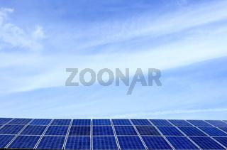 Photovoltaik mit Textfreiraum