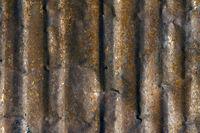 old, rusty tin