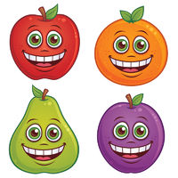 Cartoon Fruit Characters