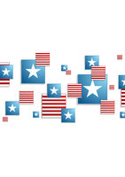 Abstract concept USA background