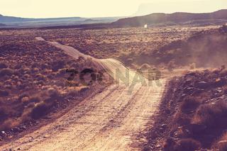 Road in prairie
