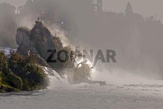 Rheinfall in Neuhausen bei Schaffhausen, Schweiz