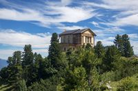 Schachen-Schloss in den deutschen Alpen