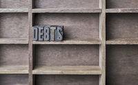 Wooden Letter Debts