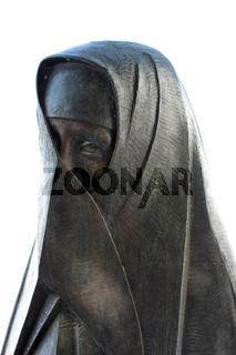 Vejer Skulptur. Andalusien