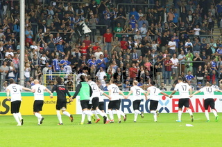 DFB-Pokal 16/17 1 HR: FC 08 Villingen - Schalke 04
