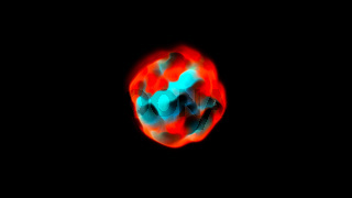 Abstract background with magic sphere