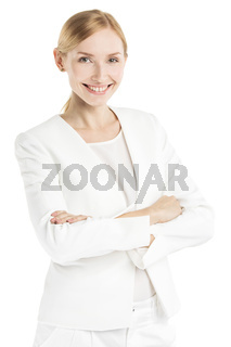 Mature smiling woman