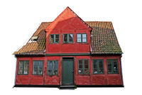 European Red City House