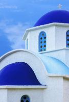 Greek church in Ikaria island