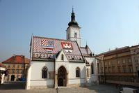 Zagreb - St. Mark's Church