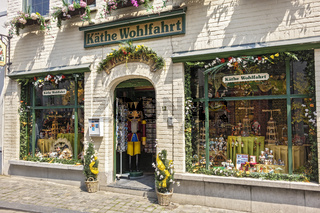 Souvenir Shop Bruges Belgium