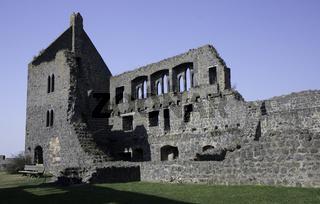 Ruine der Burganlage Münzenberg
