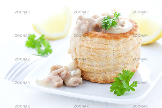 ragout fin in puff pastry