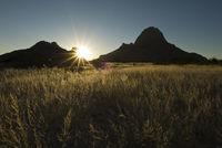 spitzkoppe im gegenlicht, namibia