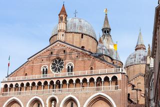 facade of Basilica of Saint Anthony of Padua