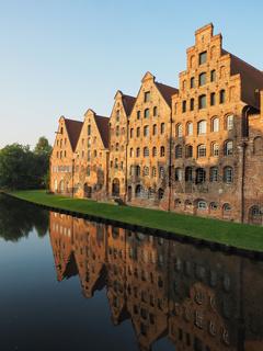 Salzspeicher in Lübeck, Deutschland