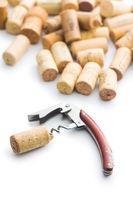 Corks and corkscrew.