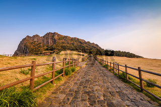 Jeju-Do Seongsan Ilchulbong, Jeju Island, South Korea