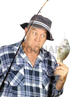 Surprised Fisherman
