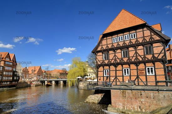 Lueneburg, Germany, Medieval City Center