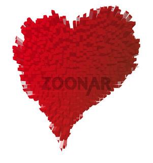 Rotes Herz, Valentinstag
