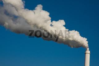 schornstein, rauch, qualm