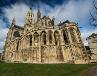 Bayeux medieval Cathedral of Notre Dame, Normandy,France