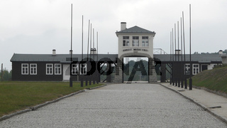 Haupttor zum ehemaligen KZ Gross-Rosen