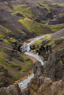 River Mountains Kerlingarfjoll Iceland