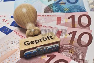 Euro, Geprueft | Euro, Checked