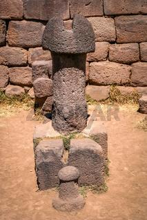Large stone phallus