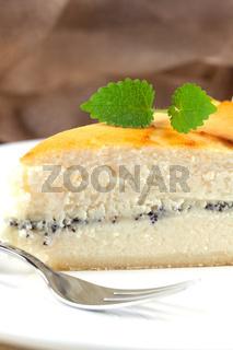Kaese-Mohn-Kuchen/ cheese poppy cake