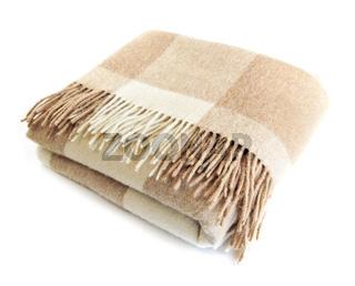 Cozy alpaca wool blanket