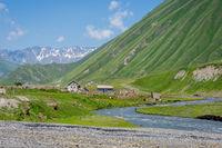 Ketrisi village, Truso valley Georgia