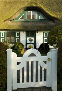 Wiecker Hausfassade / Darss