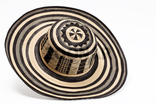 Traditional hat from Colombia: 'Sombrero vueltiao'