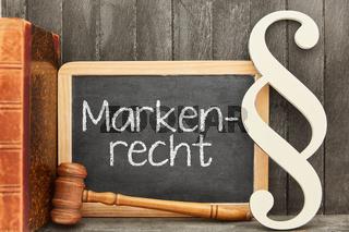 Fachanwalt für Markenrecht mit Markenschutz Konzept