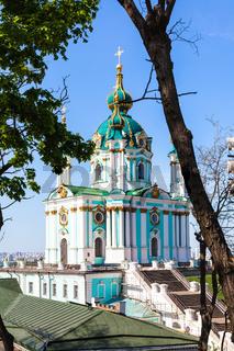 St Andrew's Church in Kiev city