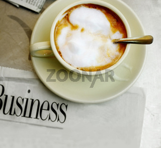 coffee and good stock market news