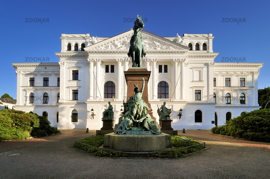 Hamburg, Germany, Altona District Town Hall