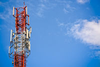 Mobile phone signal tower